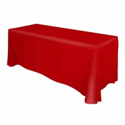 Solid Colour Table Throws / Table Covers