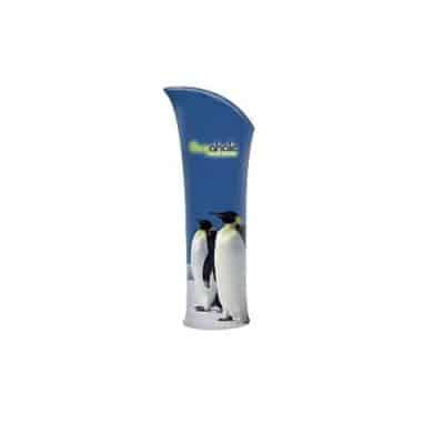 Arched Top Fabric Banner Stands