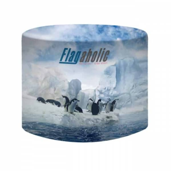 Full Colour Fitted Round Table Throws / Table Covers