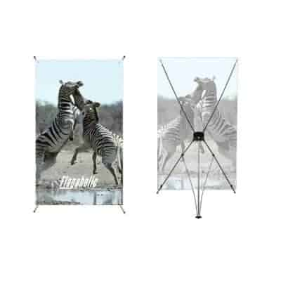 Large X Banner Stands