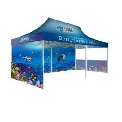Printed Marquee / Printed Canopy With Side Walls