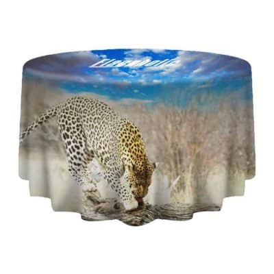 Full Colour Round Table Throws / Table Covers