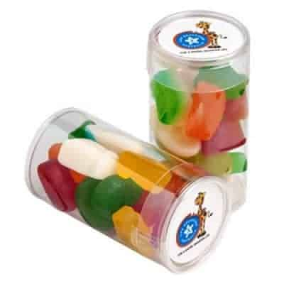 Pet Tube with Mixed Lollies 95g