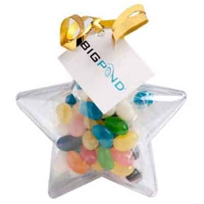 Acrylic Star with Jelly Beans 50g