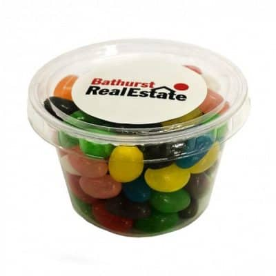 Tub filled with Jelly Beans 100g