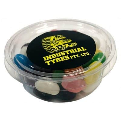 Tub filled with Jelly Beans 50g