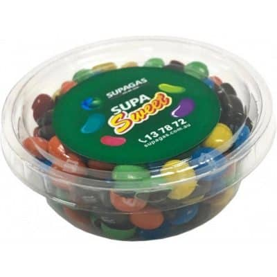Tub filled with M&Ms 50g