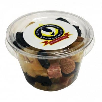 Tub filled with Fruit & Nut Mix 70g
