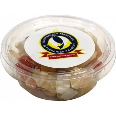 Tub filled with Dried Fruit Mix 30g