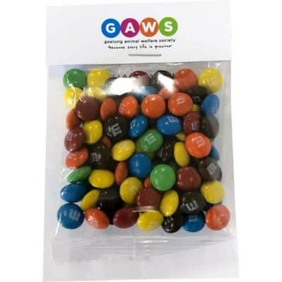 Billboard with 25g M&M Bag
