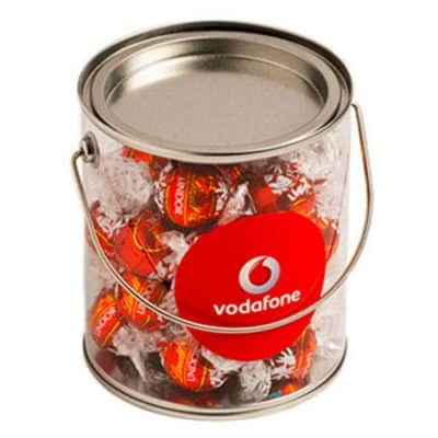 Big PVC Bucket filled with Lindt Balls
