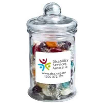 Big Apothecary Jar with Boiled Lollies 700g/ x88