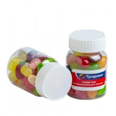 Baby Jar filled with JELLY BELLY Jelly Beans